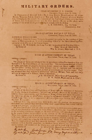 General Gordon's orders.