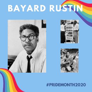 Bayard Rustin photo.