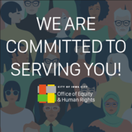 Equity and Human Rights Office graphic.