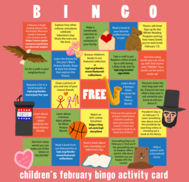 Bingo Sheet with pink background