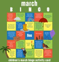March BINGO Game Card
