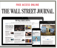Free access to The Wall Street Journal online