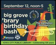 Big Grove Brary Birthday Bash