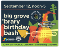 Come Celebrate 125 Years of Library Service with Us at Big Grove