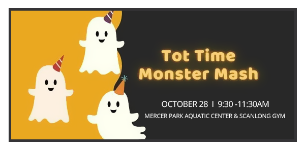 Halloween Storytime at Tot Time Monster Mash