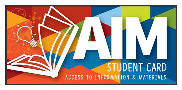 Take Advantage of Your Student's AIM Library Card