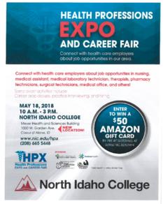 Health professions expo