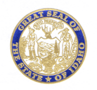State Seal blue and gold