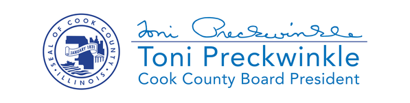 Cook County Seal | Toni Preckwinkle | Cook County Board President