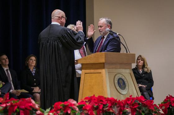 Eckhoff inauguration