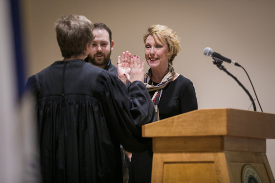 Rutledge inauguration