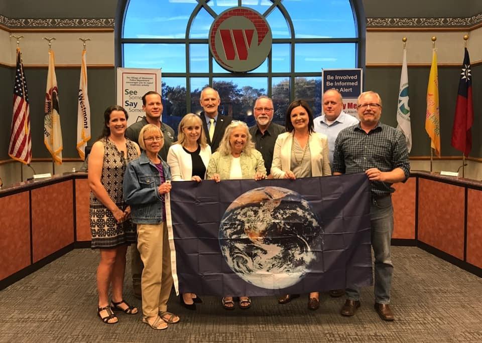 Westmont Earth Flag Celebration