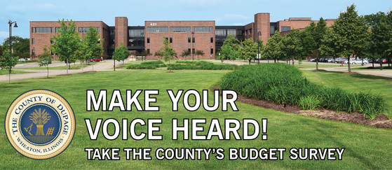Take the budget survey!