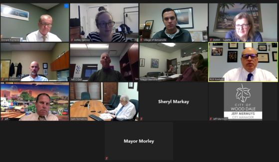 District 1 intergovernmental meeting