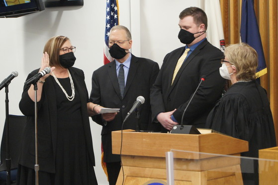 Deacon Garcia inauguration