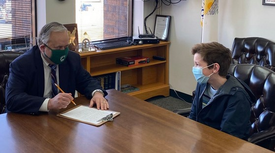 Eckhoff Eagle Scout interview