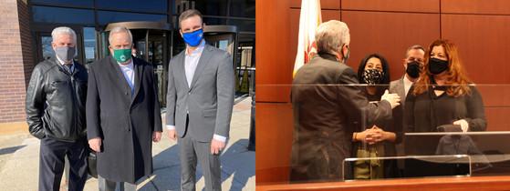 Eckhoff, LaPlante tour Judicial Offices