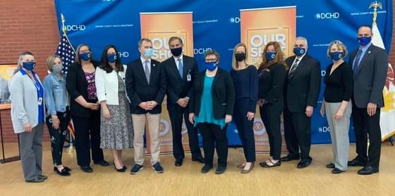 Board members attending COVID update