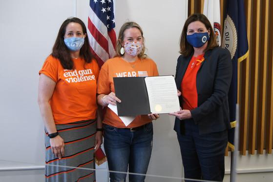 Wear Orange proclamation