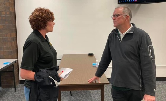 Chairman Cronin meets with Emergency Management Officials