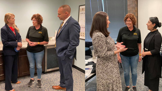 District 5 meets with emergency management