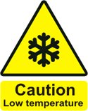 Caution Cold Weather