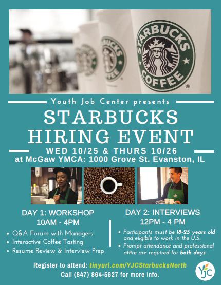 Starbucks Employment Fair