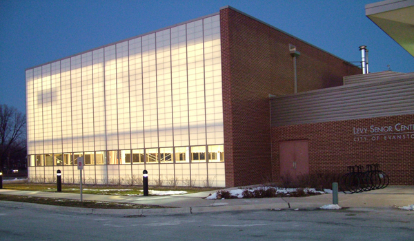 Levy Center in Winter