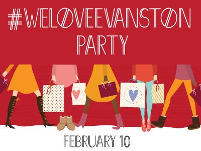 We Love Evanston Party