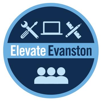 Elevate Evanston logo