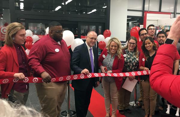 Target Sherman Plaza opening