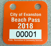 2018 beach token