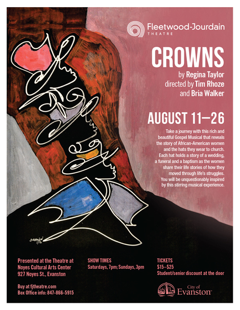 """Crowns"" poster"
