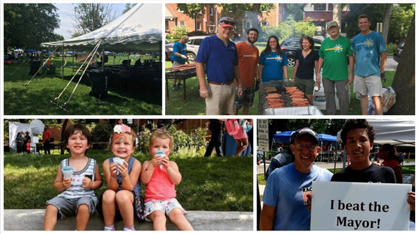 2018 CommUNITY Picnic collage