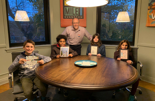 Mayor's holiday card contest winners