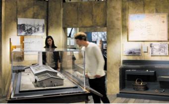 Holocaust Museum exhibit