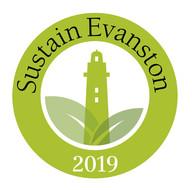 Sustain Evanston logo