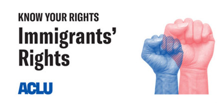 ACLU immigrants rights