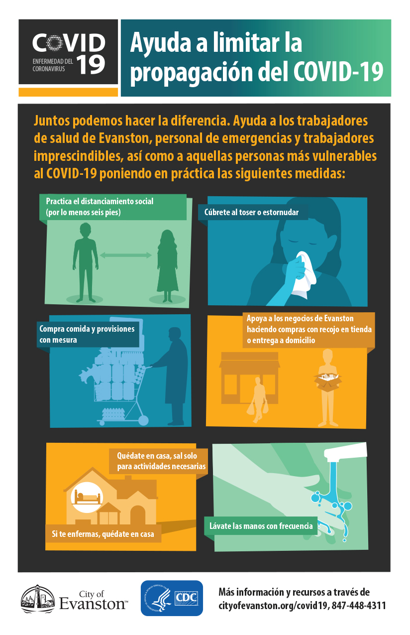 Measures to stay health (spanish)