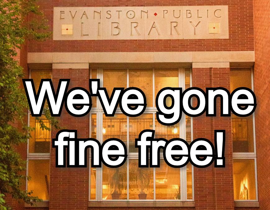We've gone fine free!