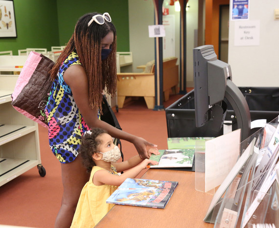 Main Library opens