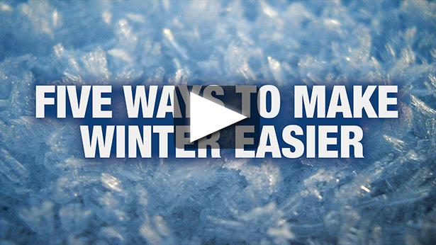 Five Ways to Make Winter Easier