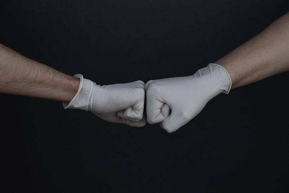 COVID Fist bump