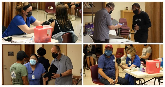 2nd Baptist Vaccination event