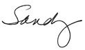 Sandy Hart Signature