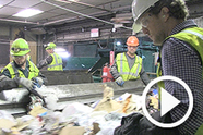 dirty jobs recycling center
