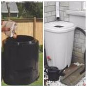 rain barrel compost bin sale