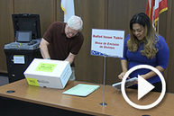 Become election judge play button