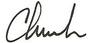 Chuck Bartels Signature