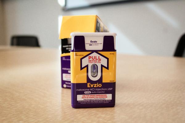EVZIO auto-injector naloxone product